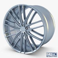 Vossen VFS4 20 wheel silver