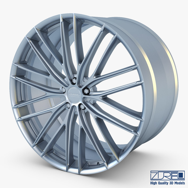 vossen vfs4 20 wheel 3D model