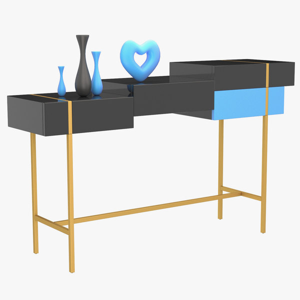 3D metaphysics sideboard furniture table