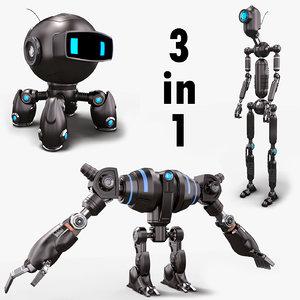 3D robots set giant