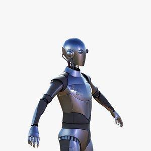 generic robot 3D