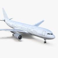 airbus a330 p2f generic 3D model