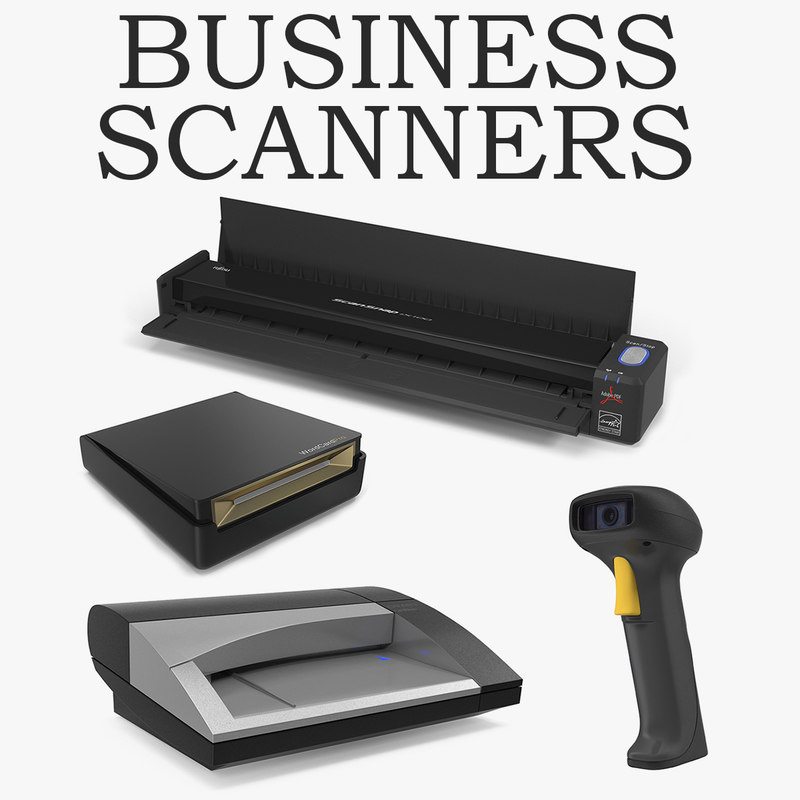 3D business scanners