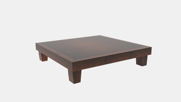 3D japanese tea table nick