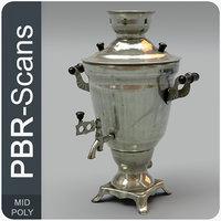 3D model old tea-urn