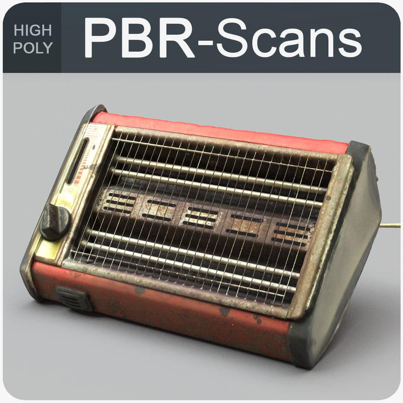 3D heater calorifier pbr