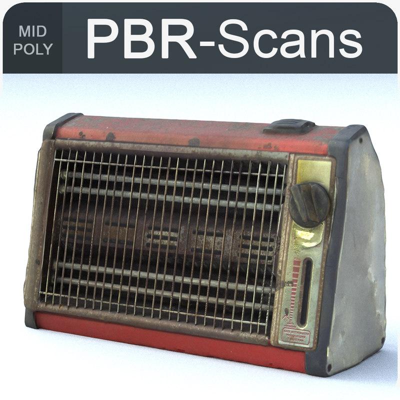3D heater calorifier old