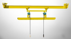 adapter crane 3D