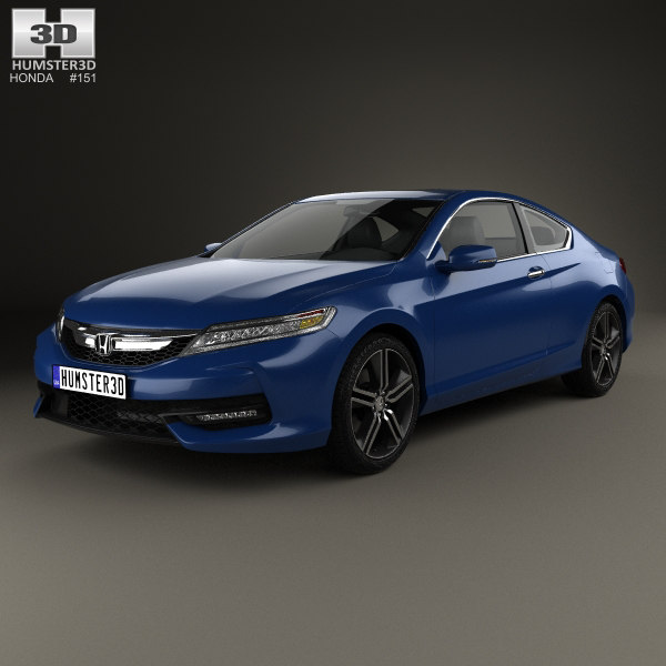 honda accord touring 3D model