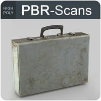 3D suitcase old tool