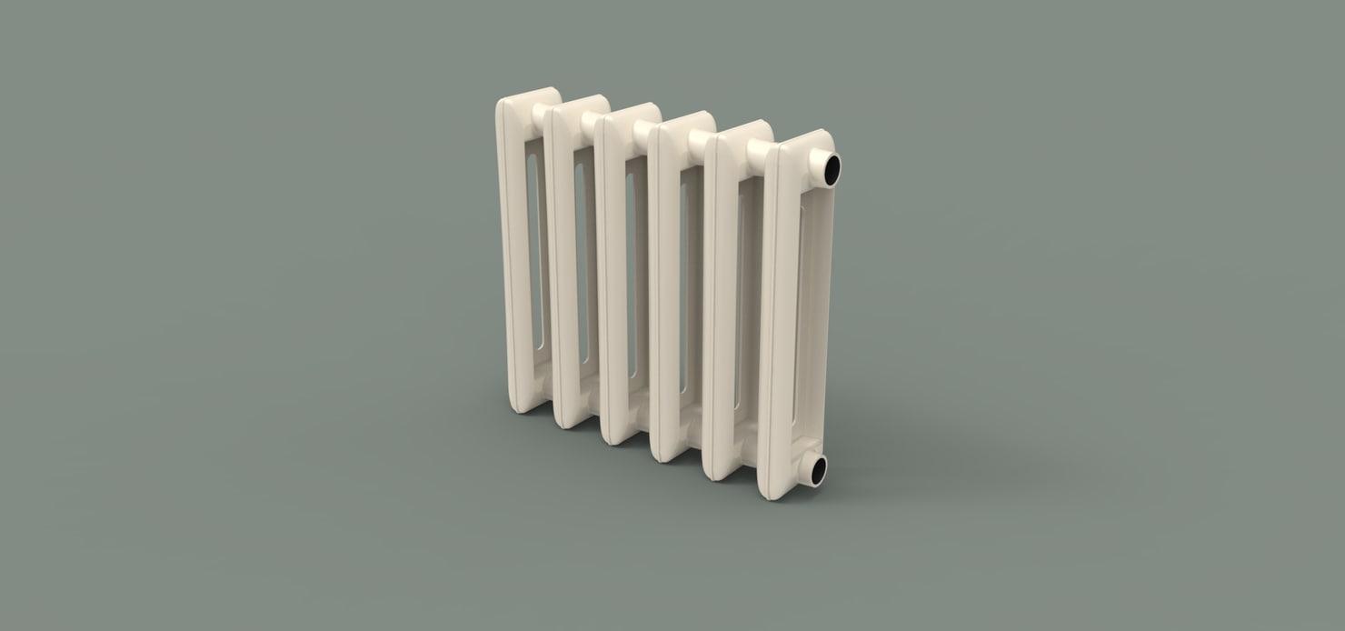 radiators heating model