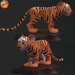 3D modeled cartoon