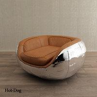 armchair home concept 3D model