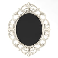 3D oval mirror baroque