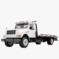 3D tow truck big model