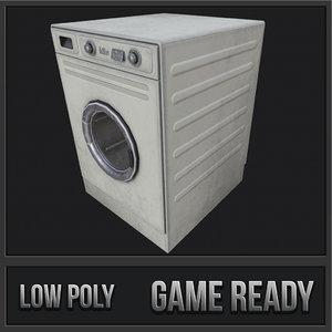 washing machine pbr 3D