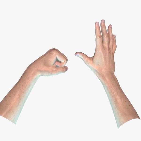 ready hand - 3D