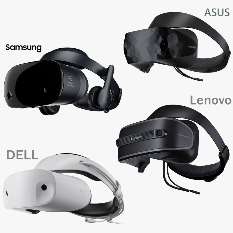 windows mixed reality goggles 3D model