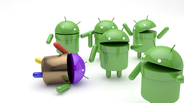 3D android logo model