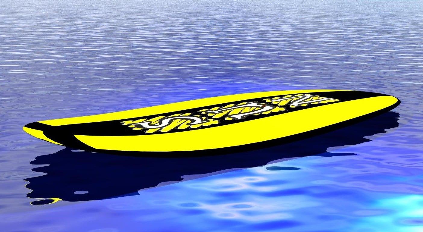 surf prancha 3D model