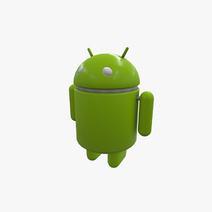 android figure 3D model