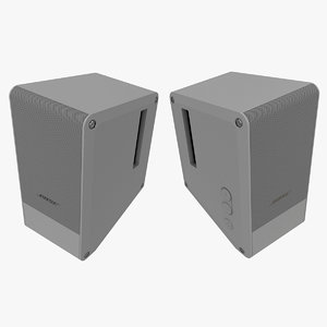speakers bose 3D model