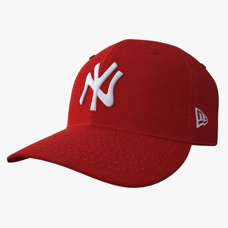 baseball cap 3D