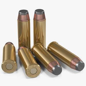 3D cartridges 44 magnum