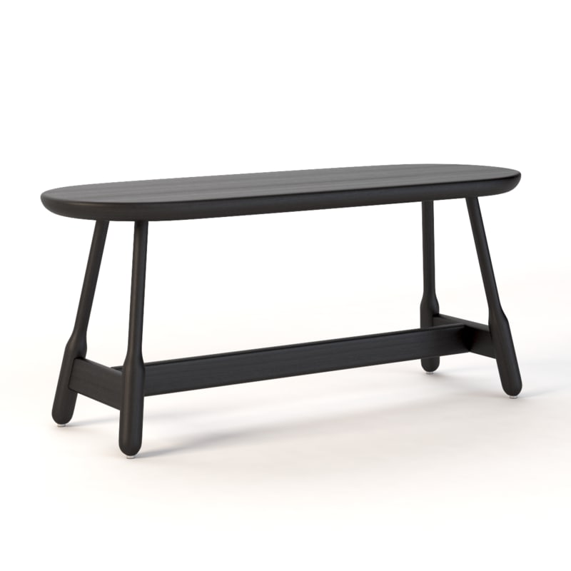3D realistic photoreal bench model