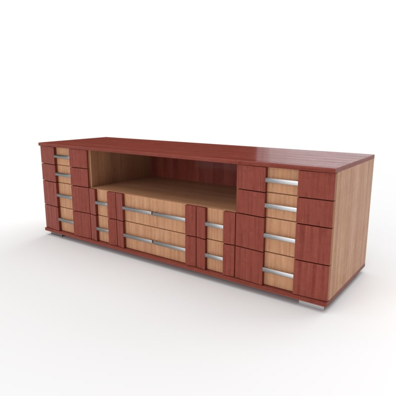 stand living 3D model