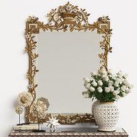 3D mirror chelini art 1201