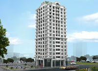 3D residential buildings model