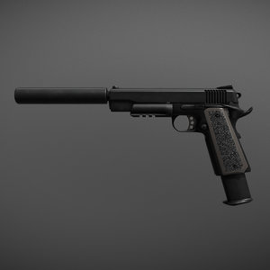colt 1911 3D model