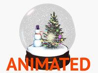 Snow Globe animated