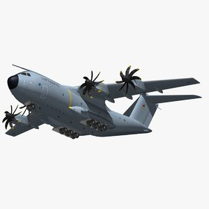 airbus a400m luftwaffe 3D model