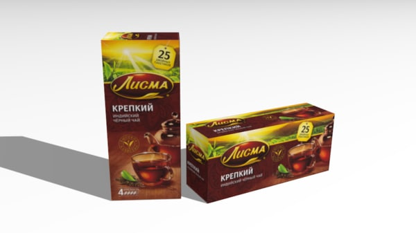 lisma tea 3D model