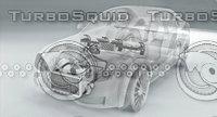 cooling car 3D