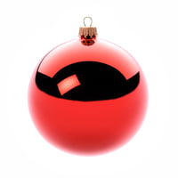 3D closeup christmas tree ornament model