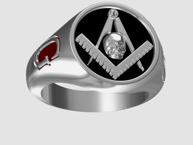 3D model men s ring
