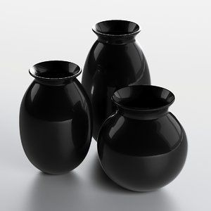 composition vases 3D model