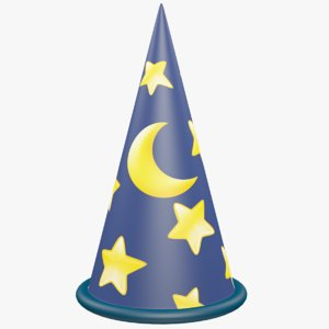 magic hat 3D model