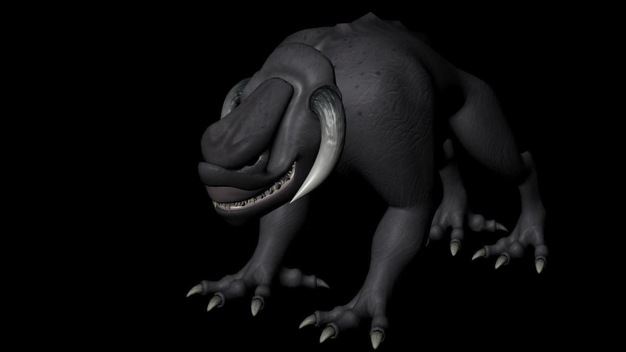 monster fatshema 3D model