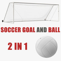 soccer goal ball model