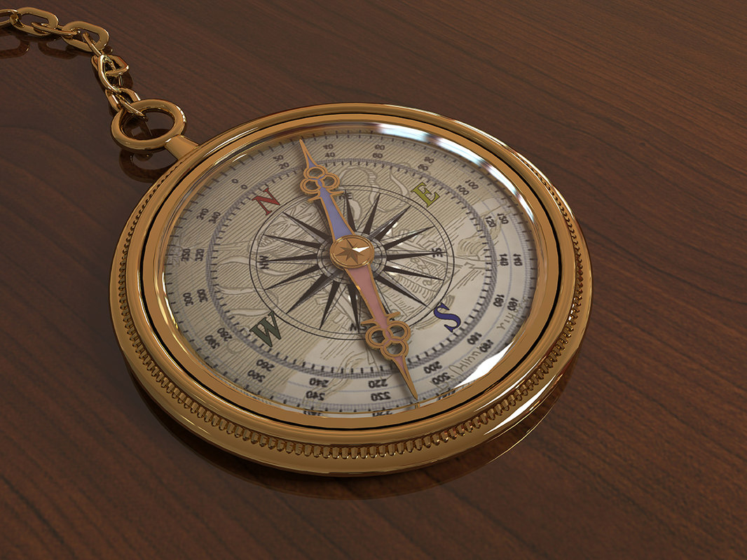 3D golden compass