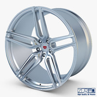 3D vossen hc-1 19 wheel model