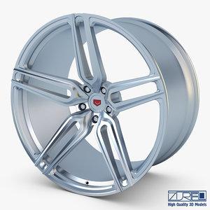 3D vossen hc-1 19 wheel model