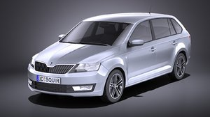 skoda rapid spaceback model