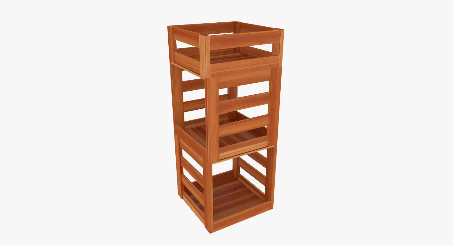 stand wood model