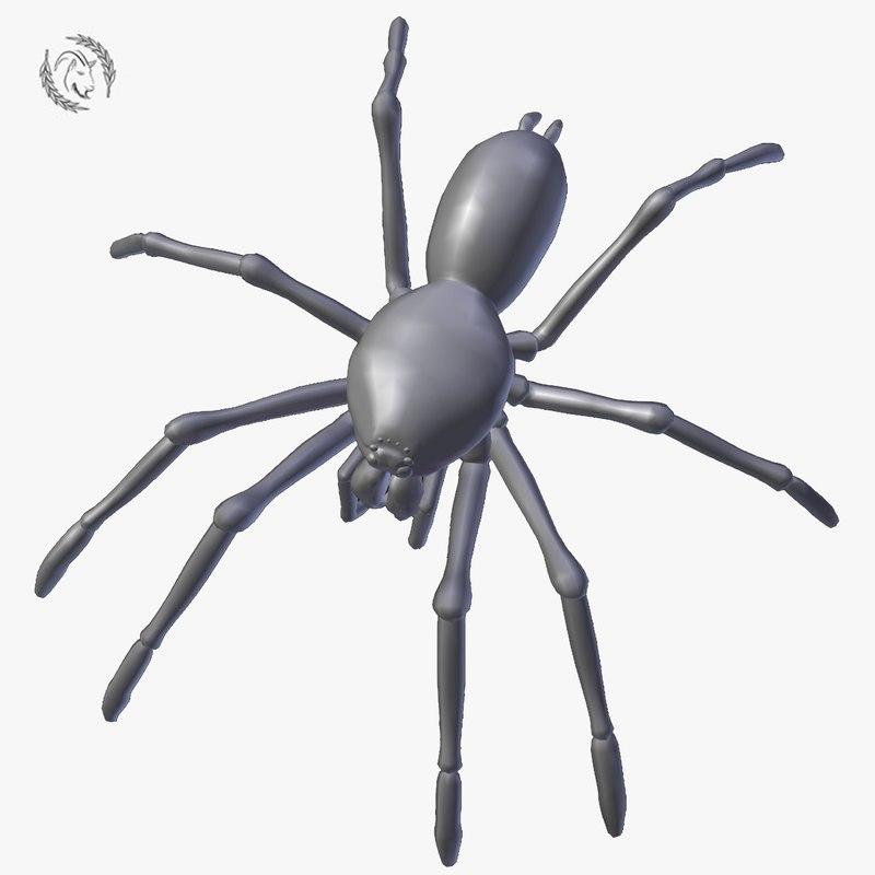 spider tarantula 3D model