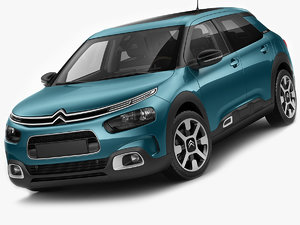 3D model citroen c4 cactus